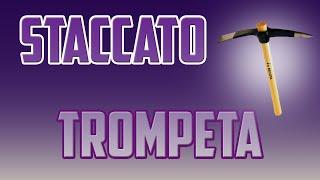 STACCATO TROMPETA | EJERCICIOS DE TROMPETA PICADO | EJERCICIOS TROMPETA PARA PRINCIPIANTES