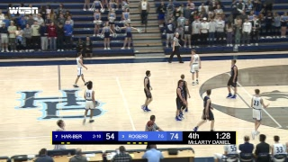 Har-Ber High School Basketball | Har-Ber vs. Rogers | Senior Night