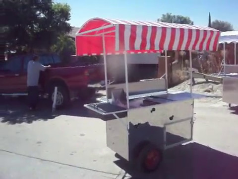 Carrito En Acero Inoxidable Venta De Food Trucks Oliver