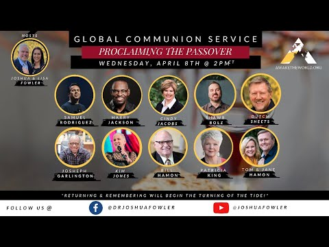 LIVE: Global Moment of Communion