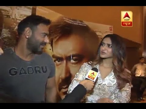 Ajay Devgan And Ileana Get Candid While Talking To ABP News Over Their Film 'Raid'