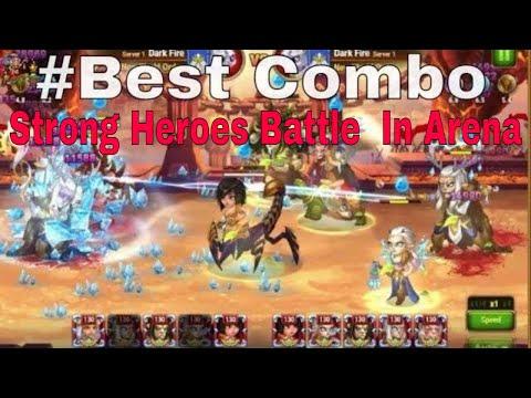 Hero wars : #Strong  Heroes Combo Battle Part I