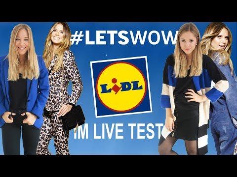 Heidi Klum für LIDL im LIVE Try On Haul I Abzocke oder Geld wert?