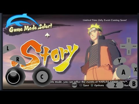 Naruto Clash Of Ninja Revolution 3 Android Wii Emulator Test Dolphin/Wii Games Download