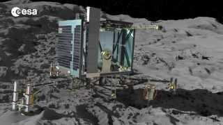 Science on the comet