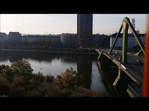 at dawn, Main River ,/ Frankfurt, HANDEL/ Water Music /Nikita Tokarev, trumpet