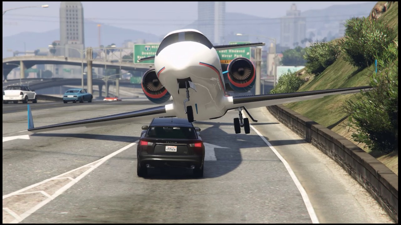 Real Plane Crash - EP1 False Runway (GTA 5)