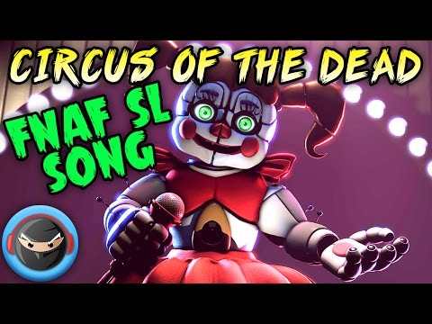 "Fnaf Sfm Sister Location Song ""circus Of The Dead"" Animation"