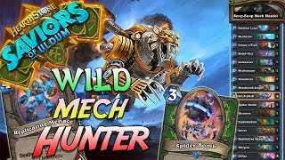 Wild Mech Hunter Deck   Saviors of Uldum   Hearthstone