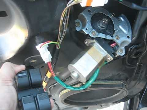 checking mazda mpv  driver left side power window