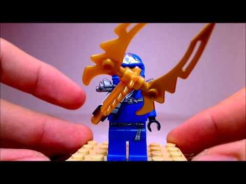 Lego 2012 Ninjago Booster Pack Review (Dual Review. Lloyd/Jay zx)