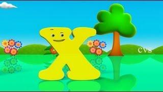 Learn English Alphabet for kids ( ABCD Song) - 3D Animation rhyme Fun thumbnail