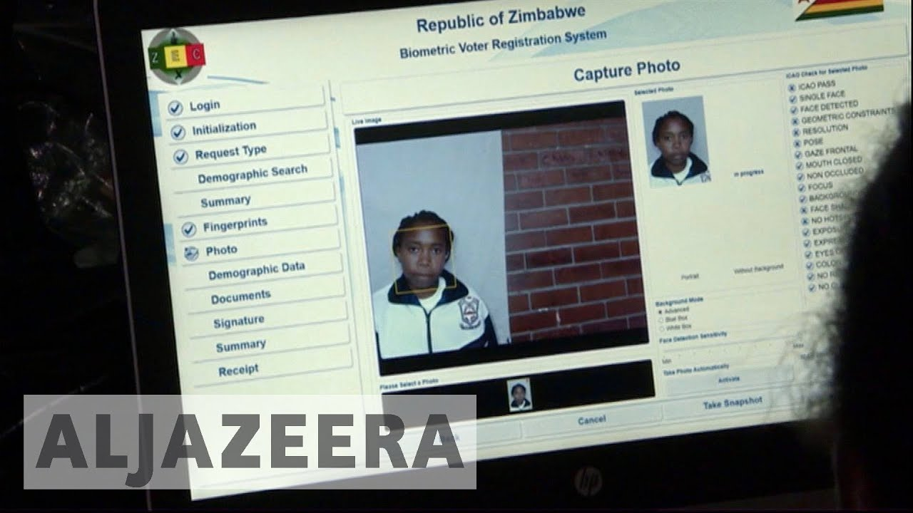 Zimbabwe to use biometric technology in 2018 elections