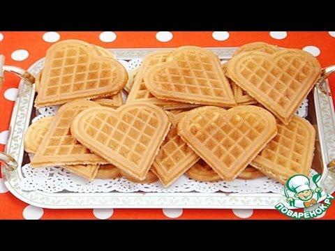 30 рецептов вафель для электровафельницы.: Рецепты на все