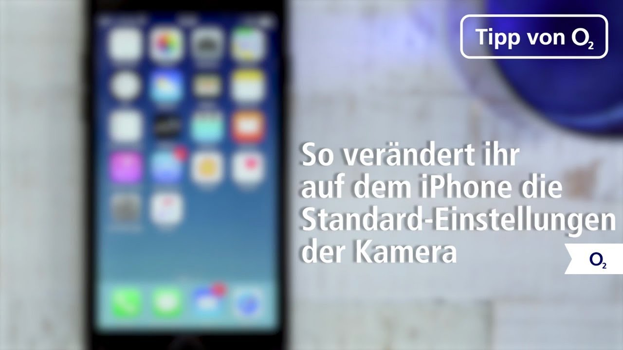 Iphone Als Entfernungsmesser : Iphone standard einstellungen der kamera verändern youtube