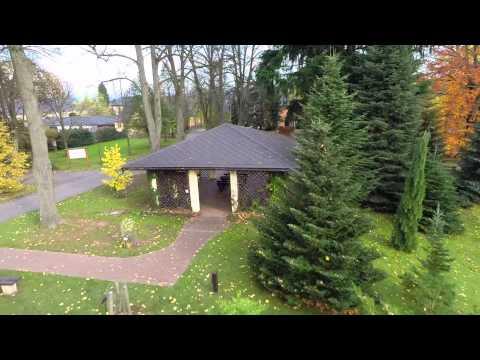 Arboretum Žampach - vnitřní areál - Domov pod hradem Žampach - letecké prohlídky