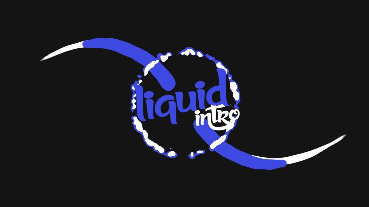 liquid logo intro template  179 sony vegas pro