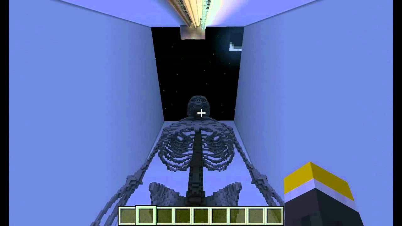 minecraft: Human body! - YouTube