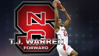 NC State's <b>T.J. Warren</b> Goes Off For Career-High 41 Points vs Pitt ...