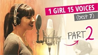 1 girl 15 voices part ii best 7 katy perry selena gomez ellie goulding and 4 more