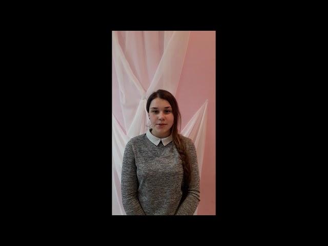 Изображение предпросмотра прочтения – АнастасияМихайлусенко читает произведение «В синее небо ширя глаза...» М.И.Цветаевой