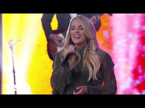 St. Pierre - Carrie Underwood Kills It On Jimmy Kimmel Live!