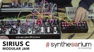 Sirius C Modular Jam (Dreadbox modular + Korg SQ1 + Roland TR-9)