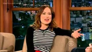 Olivia Wilde   Interview   Craig Ferguson 3 14 13