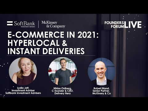 E-Commerce in 2021 ft. Delivery Hero's Co-founder & CEO, Niklas Ostberg | Softbank & McKinsey