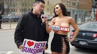 MEETING MY FANS TOPLESS! NAKED NEWS
