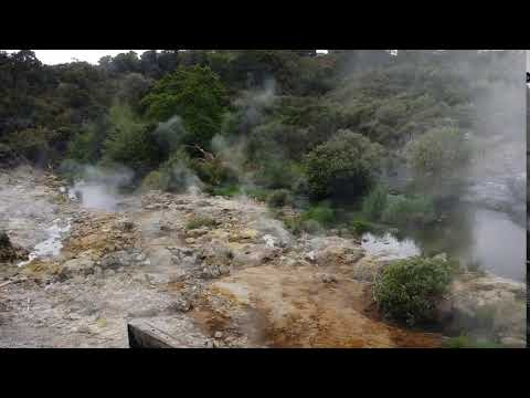 Geothermal Tour in Rotorua, New Zealand Part 4