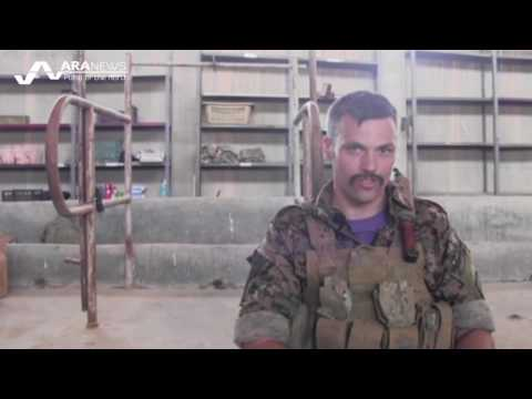 American member of YPG: Turkey's intervention in Syria aimed at impeding our advance against ISIS