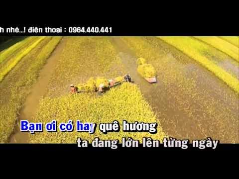 [ Karaoke ] Quê hương tình yêu và tuổi trẻ
