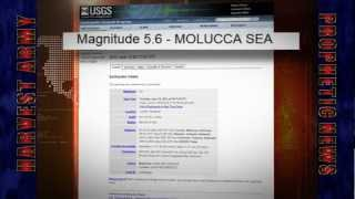 "MOLUCCA SEA Strong 5.6 EARTHQUAKE - Indonesia ""East Quake Swarm"" June 15,2012 Troubling!"