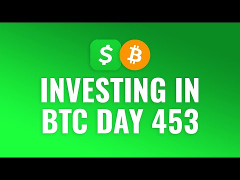 Investing $1 Bitcoin Every Day With Cash App - DAY 453