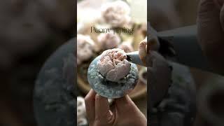앙금으로 만든 작약 edible art peony, p…
