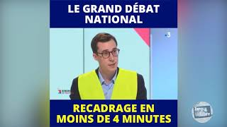 Le gilet jaune Francois Boulo s'explique sur le grand débat national