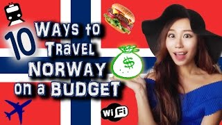 10  Ways to Travel Norway on a Budget | 如何在挪威便宜旅行