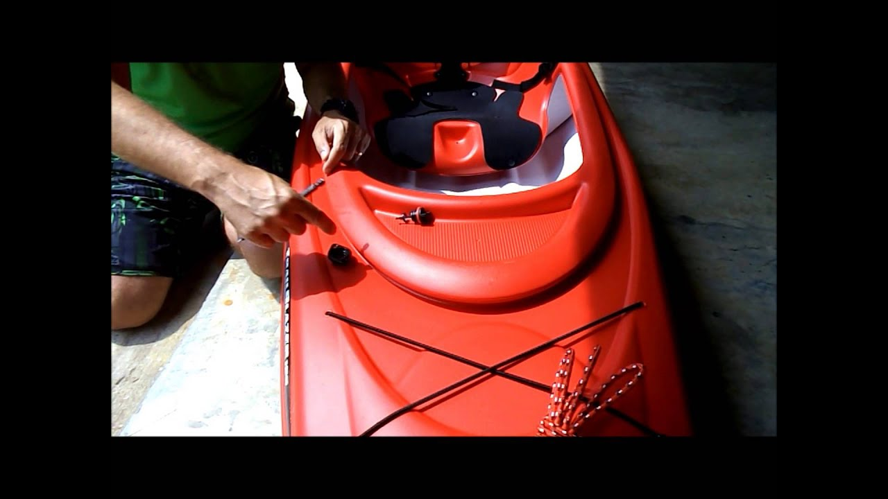 How to Lock up a Kayak  YouTube