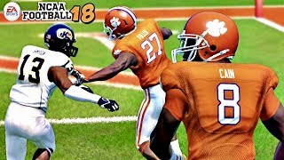 NCAA Football 18 | Kent State vs. Clemson!!! New Rosters, New Gameplay!!! 2017 Season Opener