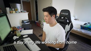 A Realistic Day In The Life | software engineer working from home