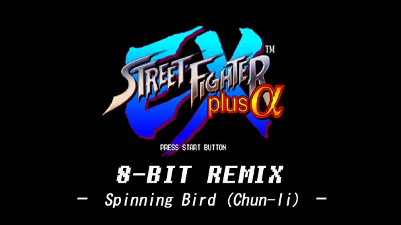 8-bit REMIX - Spinning Bird (Chun li) - Street Fighter EX plus Alpha