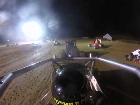 H.A.R.T. Racing 35 Raceway Non wing (5/30/15) Feature Part 1