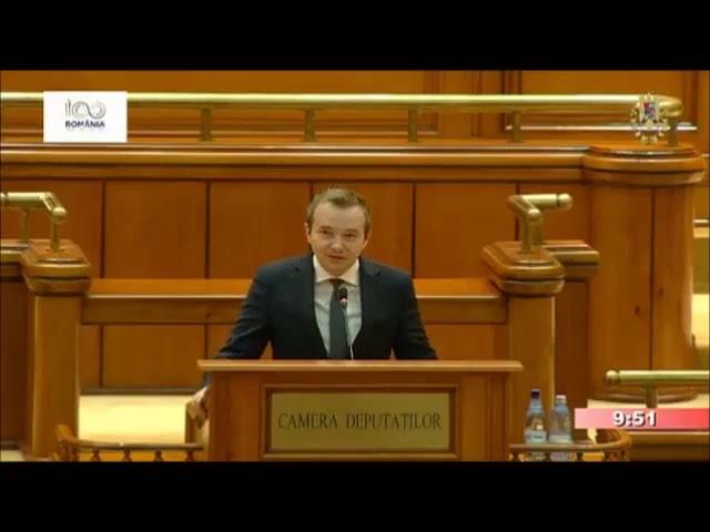 10.10.2018 - Declara?ie politic? - Daniel Gheorghe, deputat PNL.