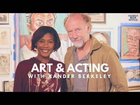 Xander Berkeley Art Tour