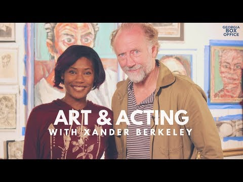 Xander Berkeley Art Tour
