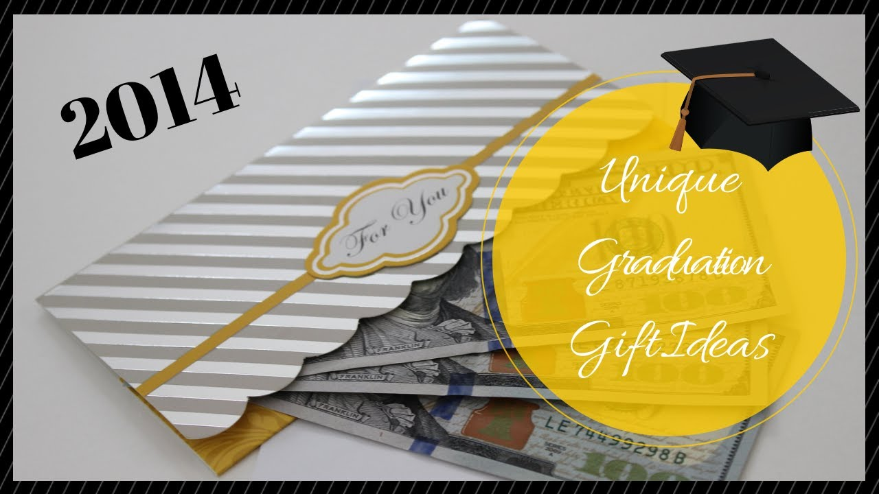 2014 unique graduation gift ideas youtube - Graduation Gift Ideas