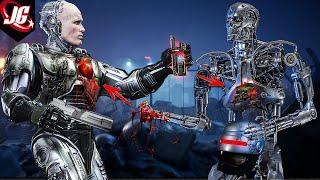 Робокоп vs Терминатор: Сравнение силы, прочности, характеристик