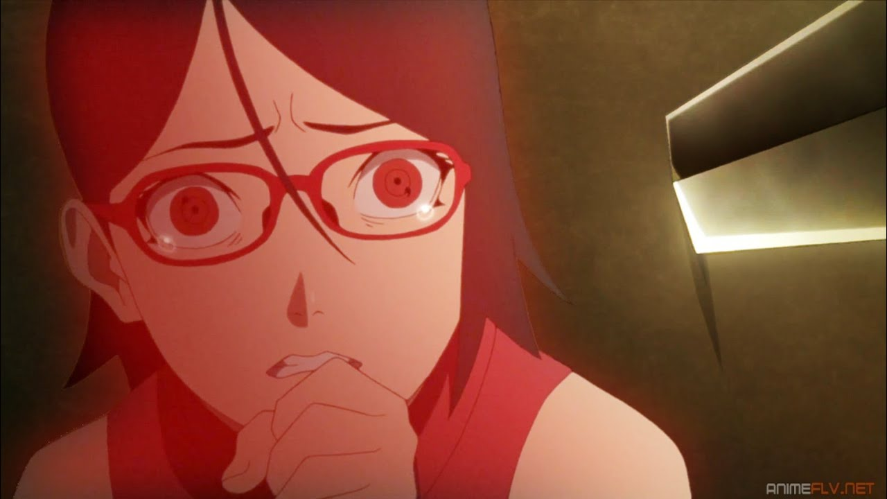 Sasuke No Reconoce A Sarada e Intenta Penetrarla Con Su Espada, Naruto Y Sasuke Vs Shin [60FPS]