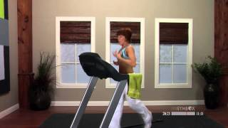 Treadmill workout for beginners with Chrissy - 30 Minutes